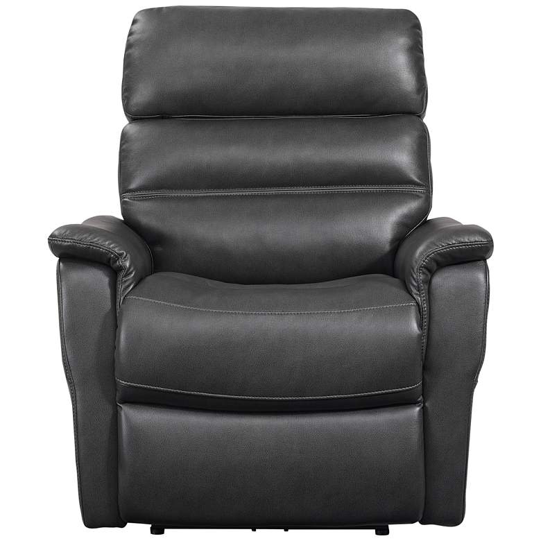 Callan Chester Charcoal Power Lift Recliner with USB Port