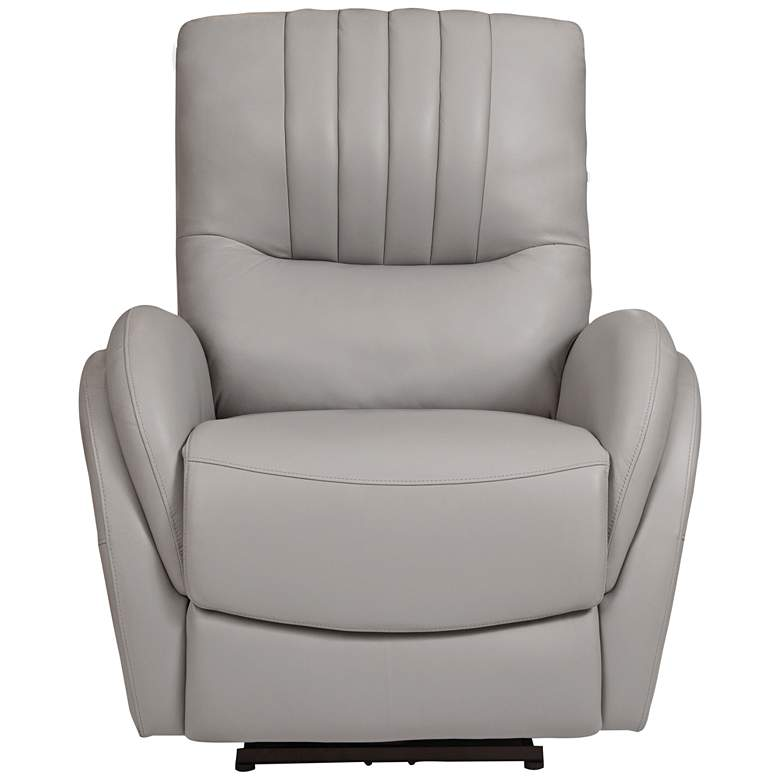 Italy Cream Power Lift USB Recliner with Lumbar Support