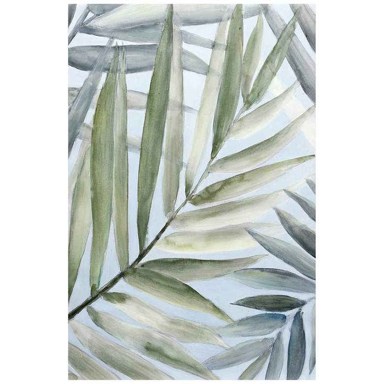 """Tropical Getaway 36"""" High Stretched Canvas Wall Art"""