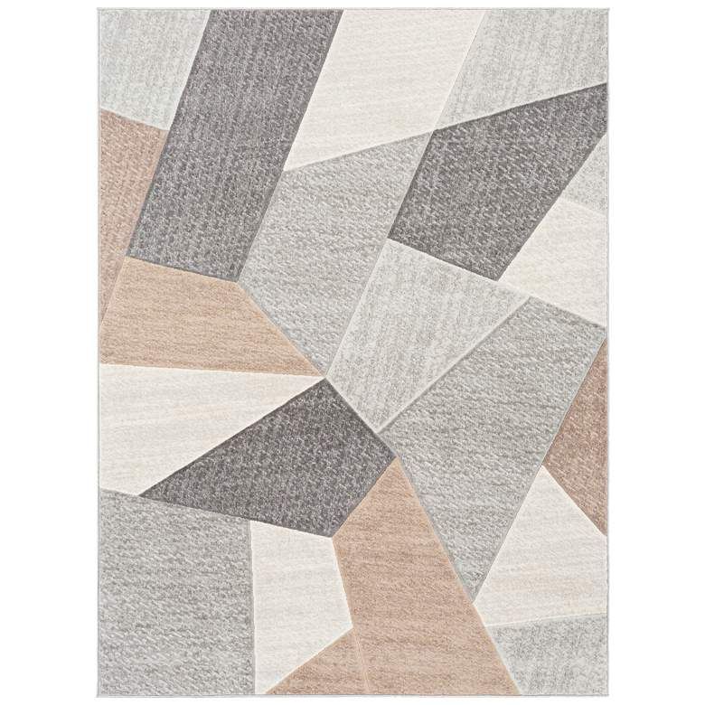 "Surya Remy RMY-2319 5'3""x7'3"" Gray and Charcoal Area Rug"