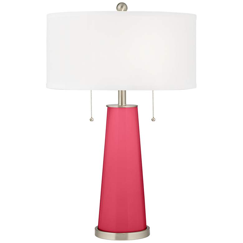 Eros Pink Peggy Glass Table Lamp
