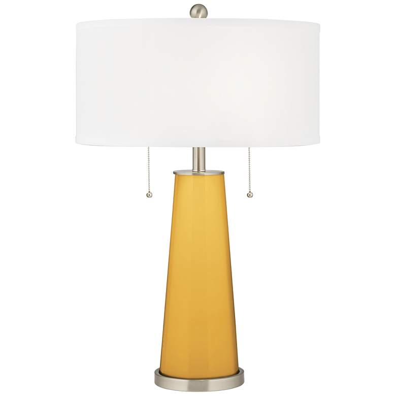 Goldenrod Peggy Glass Table Lamp