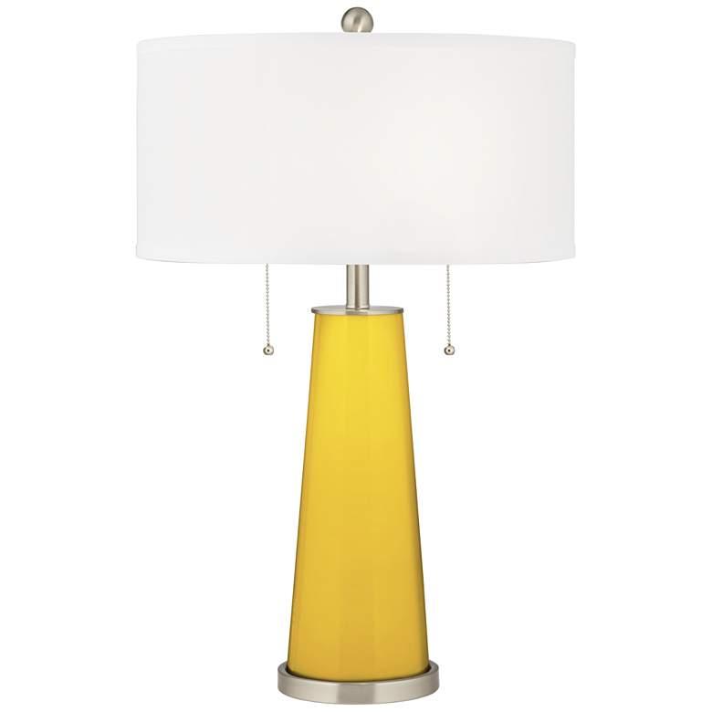 Citrus Peggy Glass Table Lamp