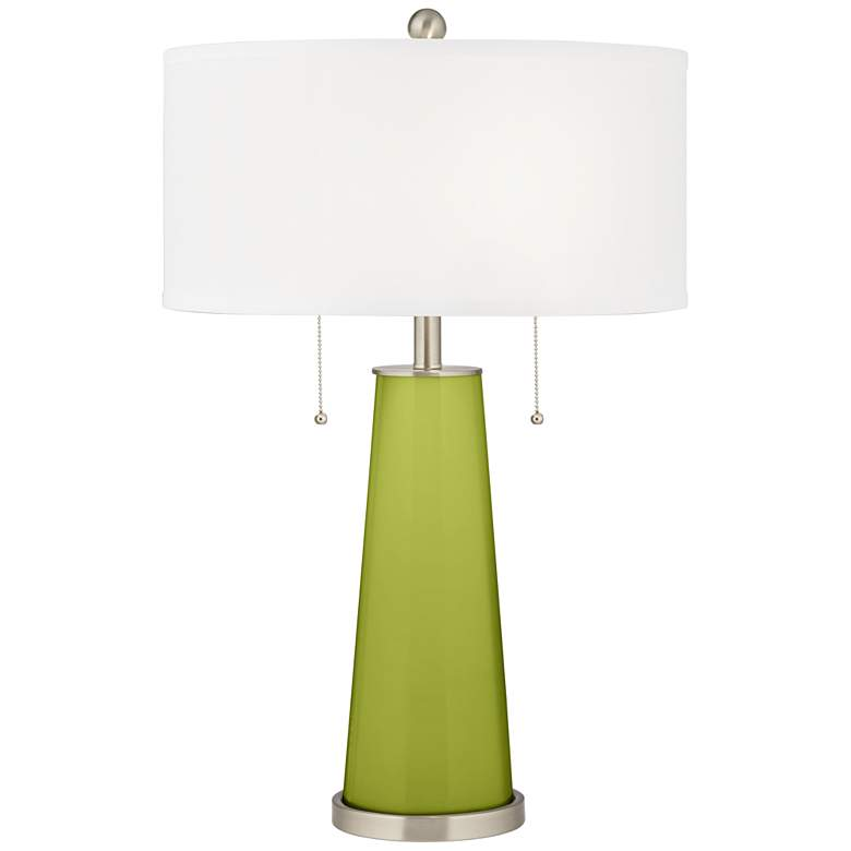 Parakeet Peggy Glass Table Lamp