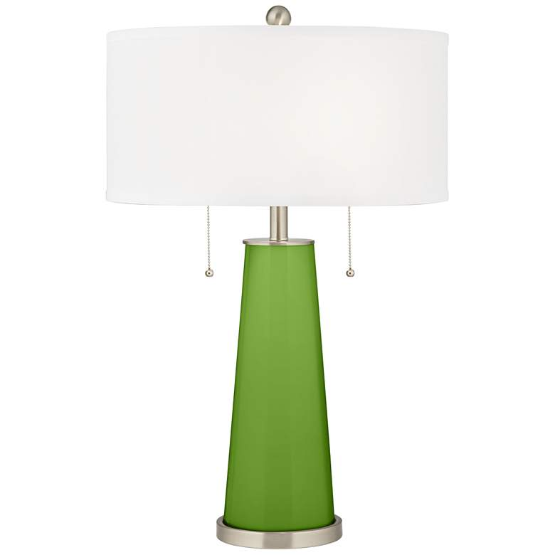 Rosemary Green Peggy Glass Table Lamp