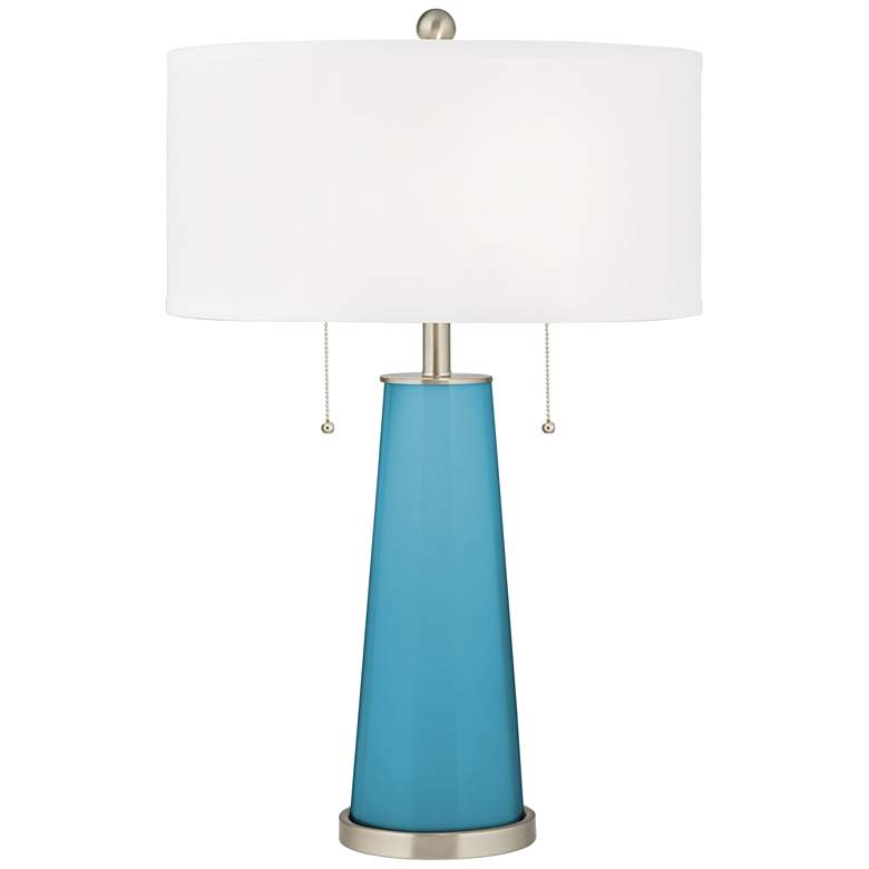 Jamaica Bay Peggy Glass Table Lamp
