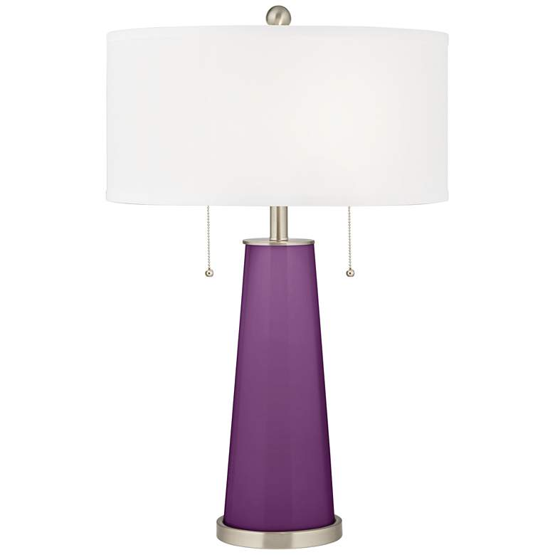 Kimono Violet Peggy Glass Table Lamp