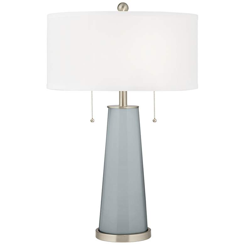 Uncertain Gray Peggy Glass Table Lamp