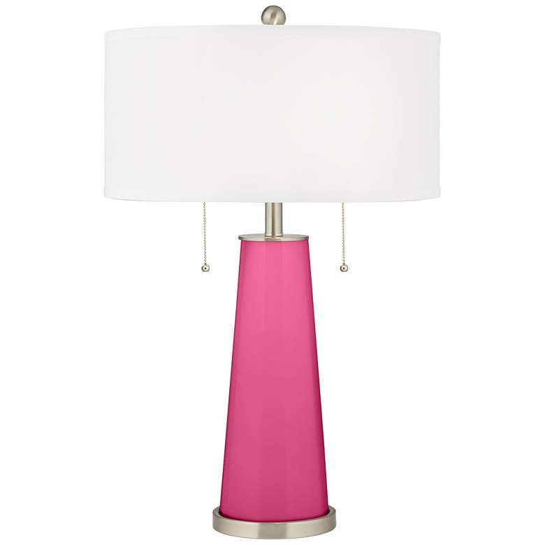 Blossom Pink Peggy Glass Table Lamp