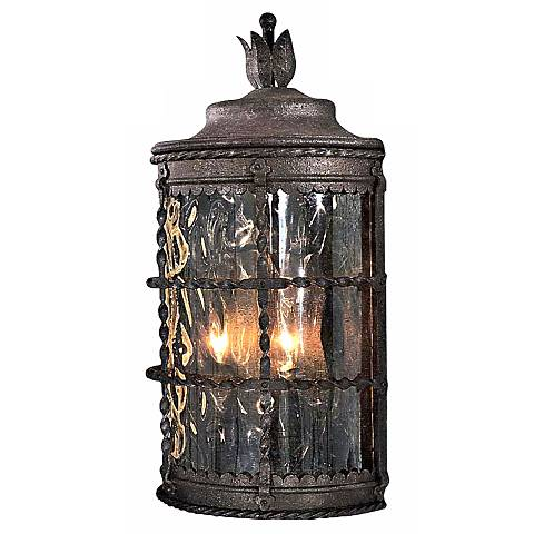 "Mallorca Collection 19 1/2"" High Outdoor Pocket Wall Light"