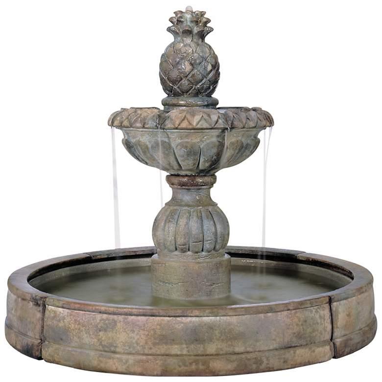 """Henri Studio 57""""H Pina Cascade Outdoor Fountain"""