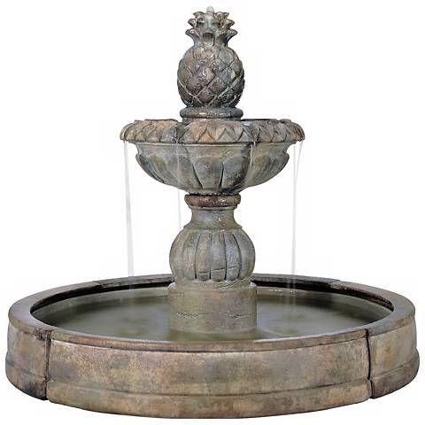 "Henri Studio 57""H Pina Cascade Outdoor Fountain"