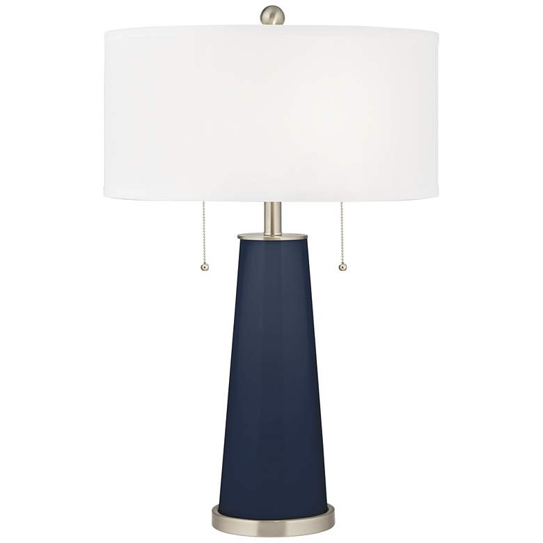 Naval Peggy Glass Table Lamp