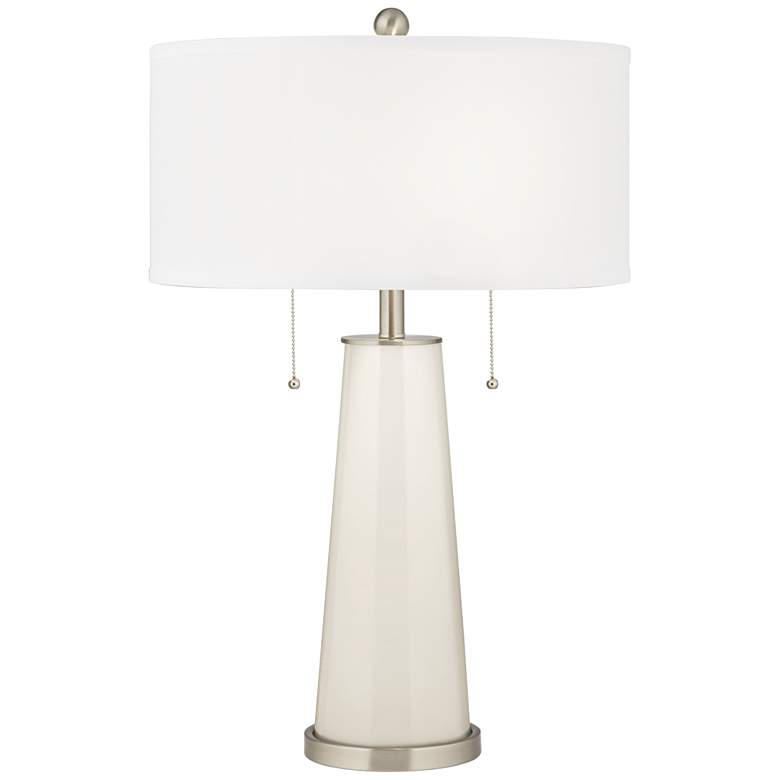 West Highland White Peggy Glass Table Lamp