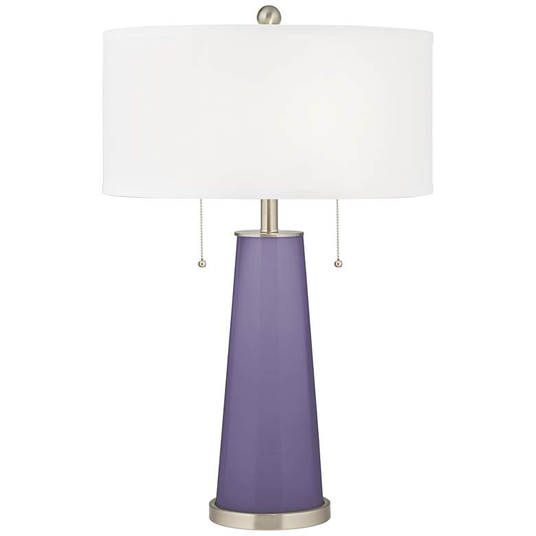 Purple Haze Peggy Glass Table Lamp