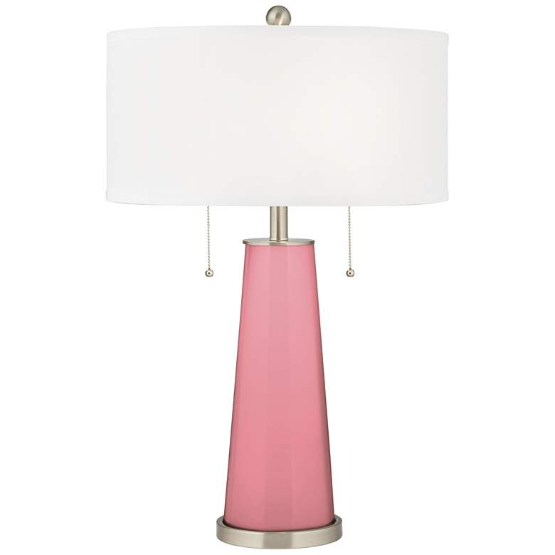 Haute Pink Peggy Glass Table Lamp