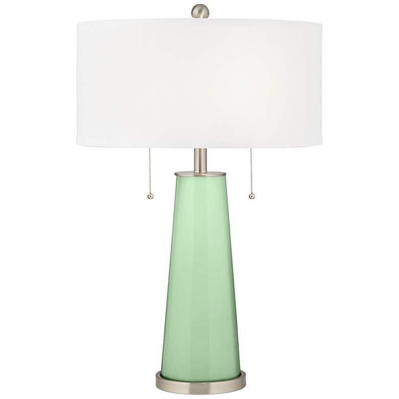 Flower Stem Peggy Glass Table Lamp