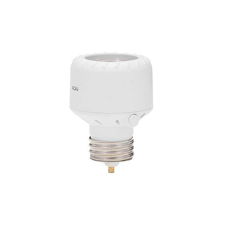 Indoor - Outdoor Programmable Light Control Socket