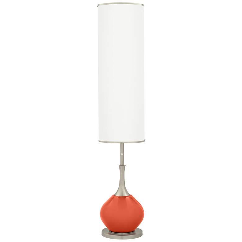 Daring Orange Jule Modern Floor Lamp