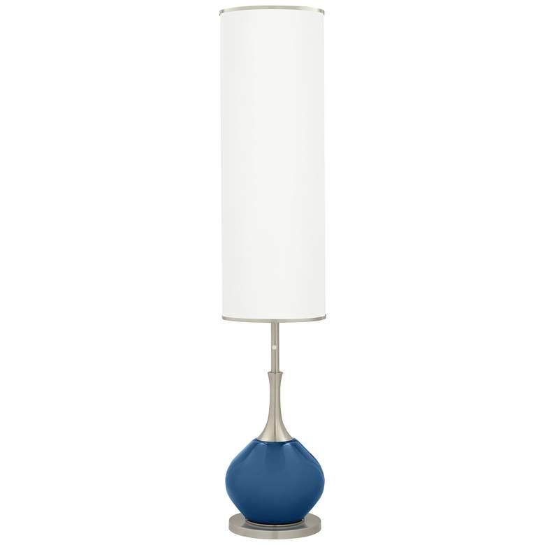Regatta Blue Jule Modern Floor Lamp