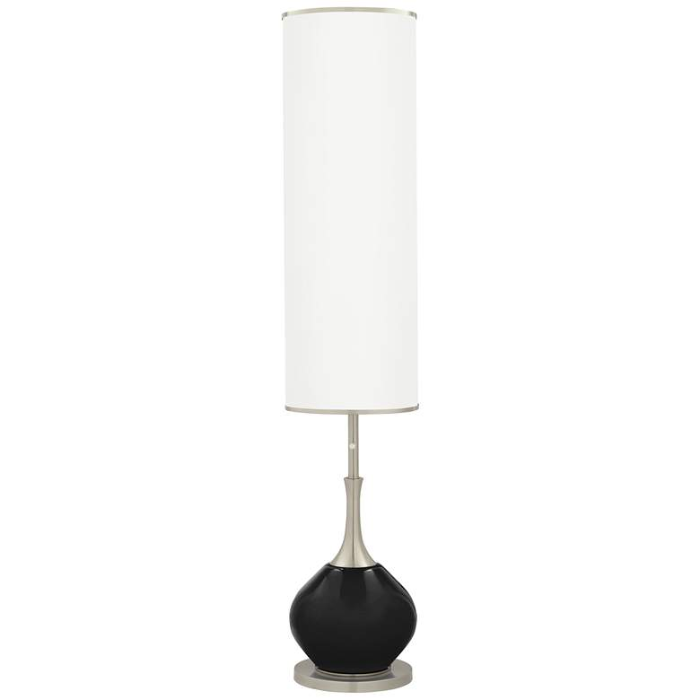 Tricorn Black Jule Modern Floor Lamp