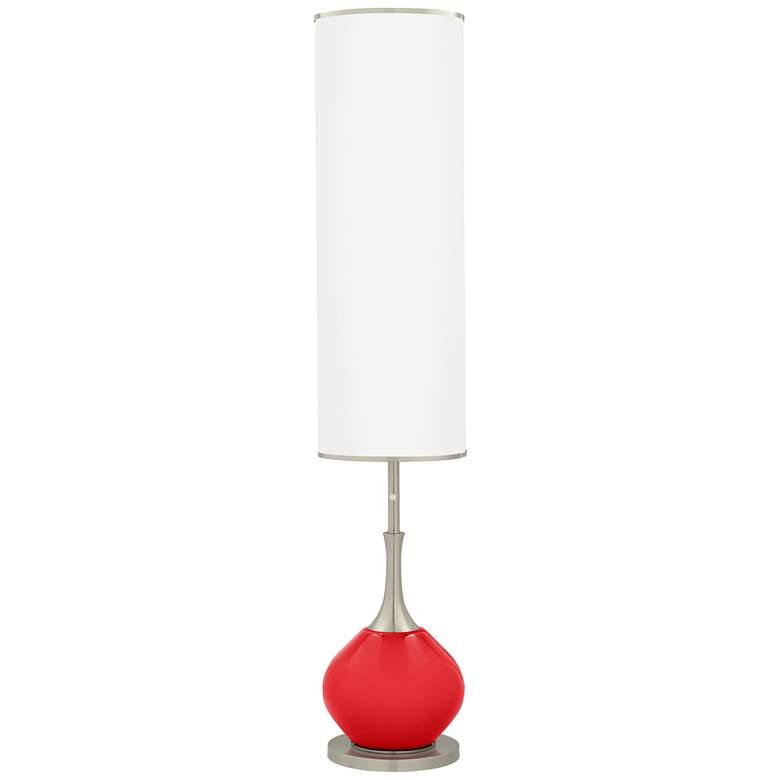 Poppy Red Jule Modern Floor Lamp