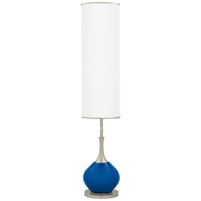 Hyper Blue Jule Modern Floor Lamp