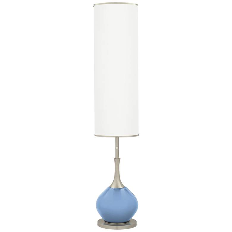 Placid Blue Jule Modern Floor Lamp