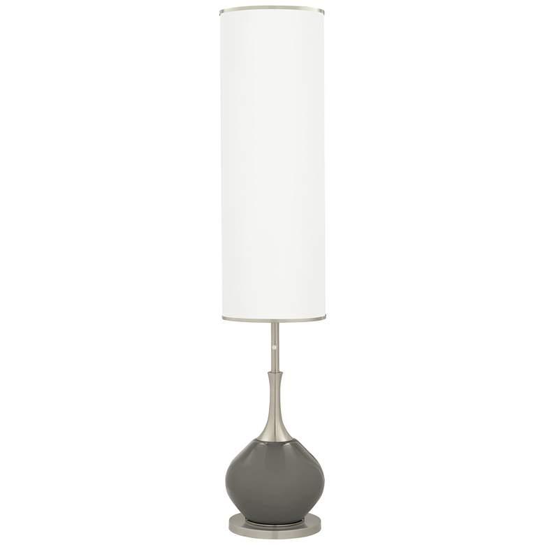 Gauntlet Gray Jule Modern Floor Lamp