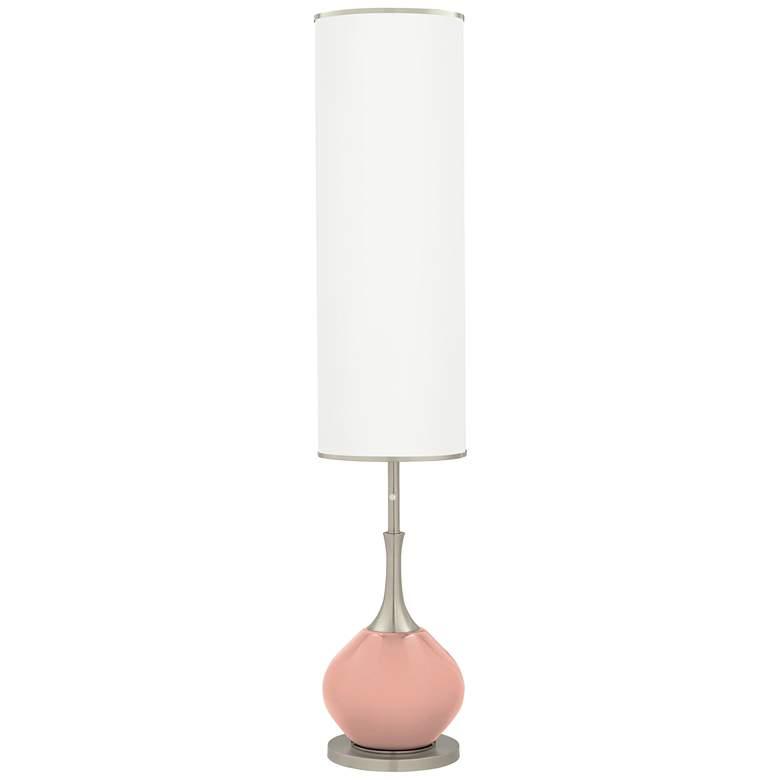 Mellow Coral Jule Modern Floor Lamp