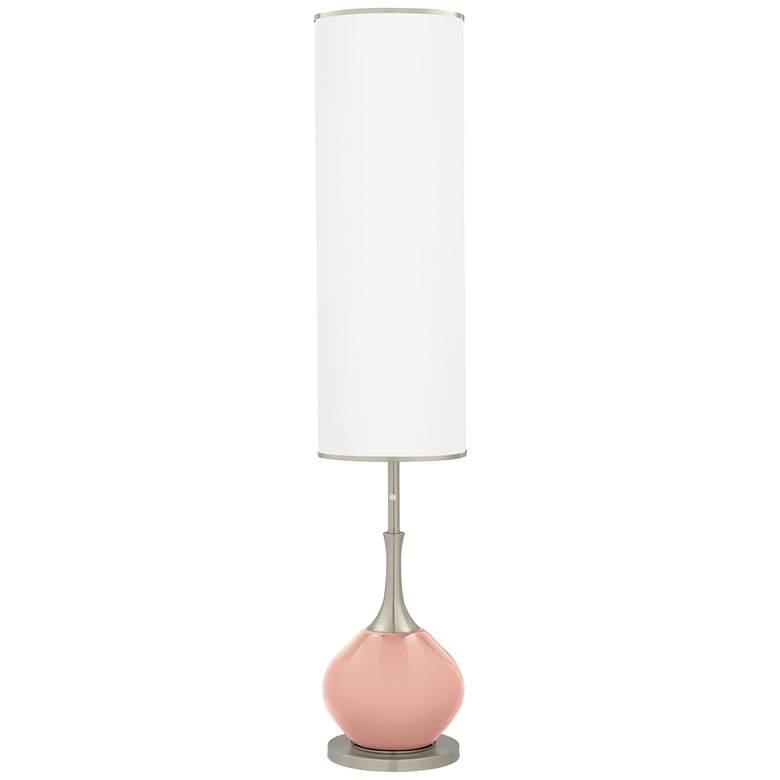 Rustique Warm Coral Jule Modern Floor Lamp