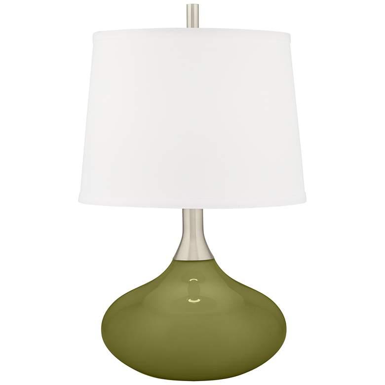 Rural Green Felix Modern Table Lamp