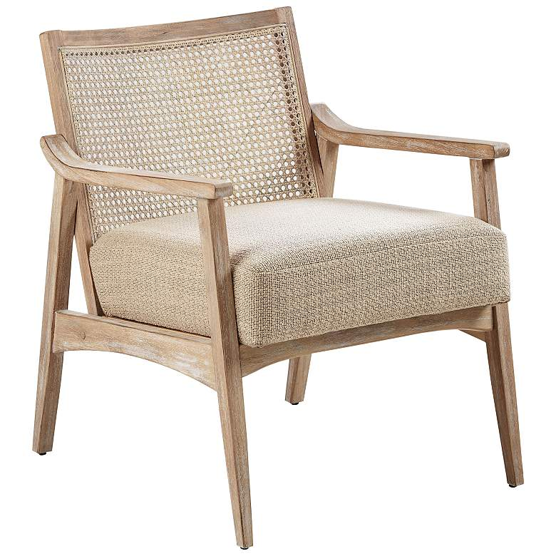 INK+IVY Kelly Light Brown and Wheat Accent Chair