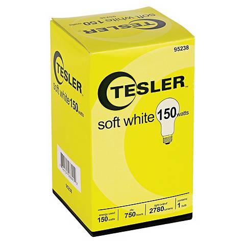 Tesler 150 Watt Soft White A21 Light Bulb