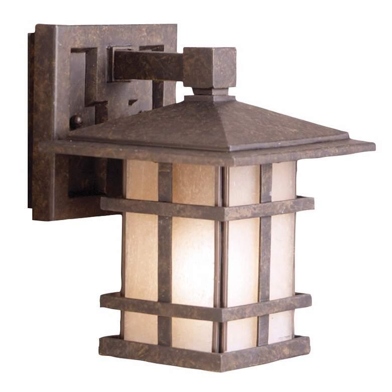 "Cross Creek Collection 8 1/2"" High Outdoor Wall Lantern"