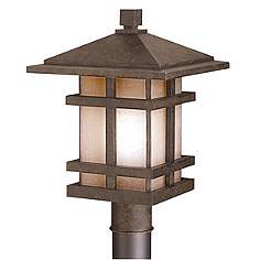 Kichler post light outdoor lighting lamps plus cross creek collection 17 mozeypictures Gallery