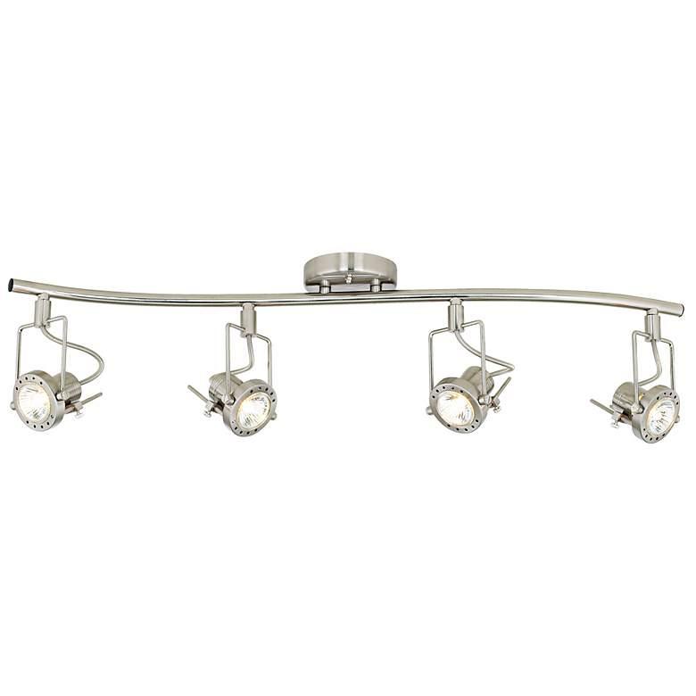 """LED Pro Track® European Style 4-Light  31 3/4"""" Wave Bar"""