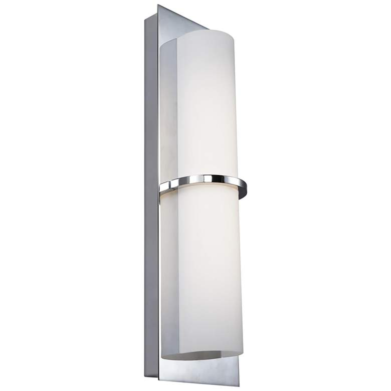 """Feiss Cynder 18"""" High Chrome LED Wall Sconce"""