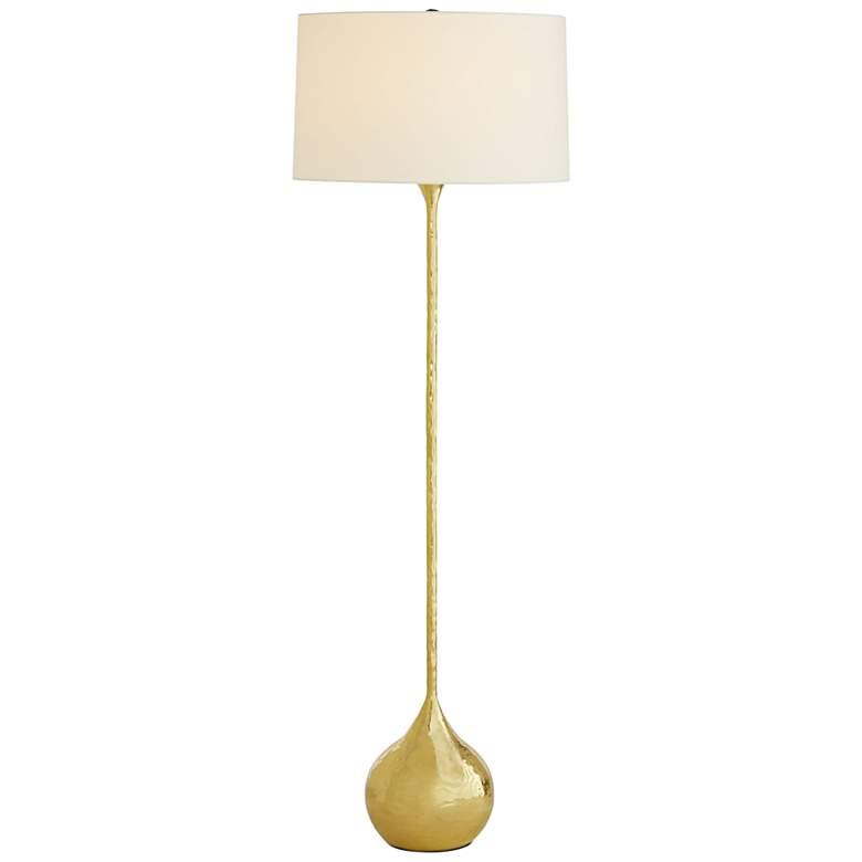 Arteriors Home Frida Hammered Polished Brass Floor Lamp
