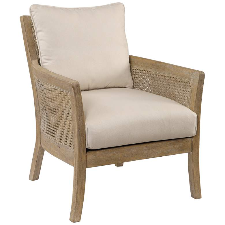 Uttermost Encore Natural Rattan Armchair