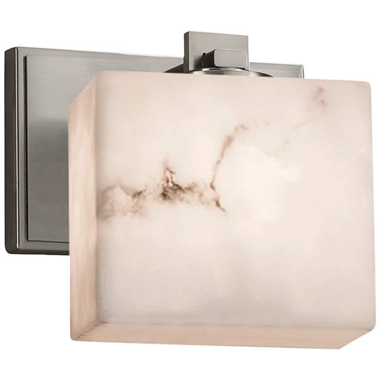 "LumenAria Collection Era 6 1/4"" High Brushed Nickel LED Wall Sconce"