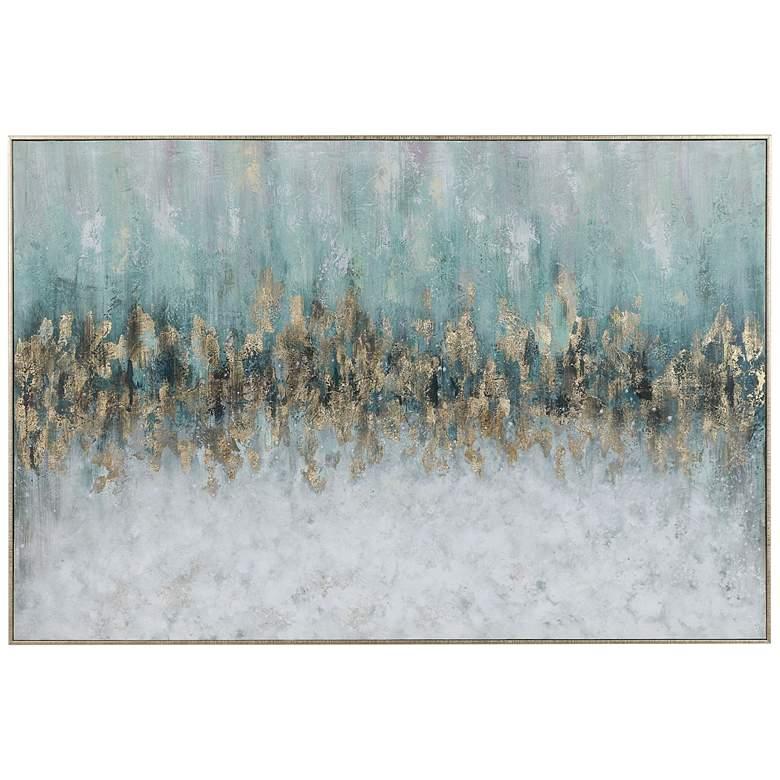 "Uttermost Divide 61"" Wide Framed Canvas Wall Art"