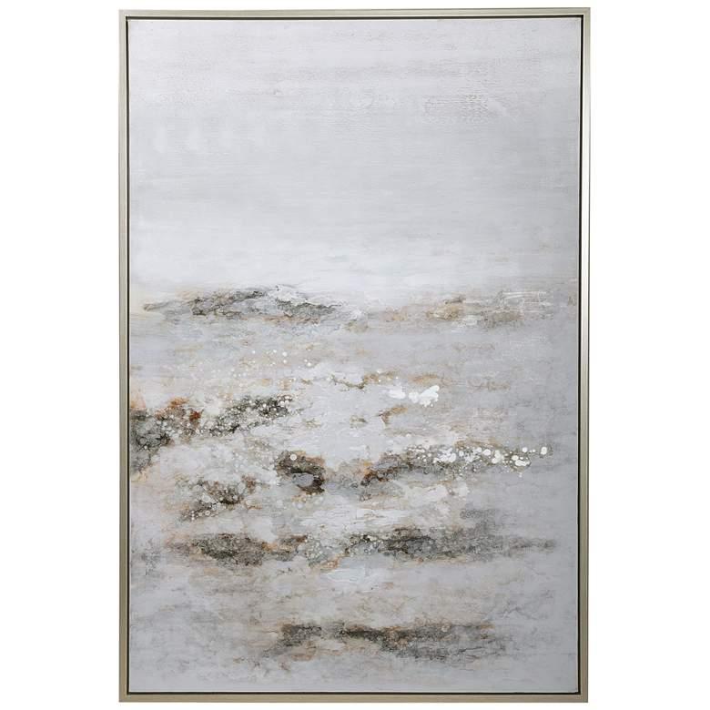 """Uttermost Open Plain 61 3/4"""" High Framed Canvas Wall Art"""