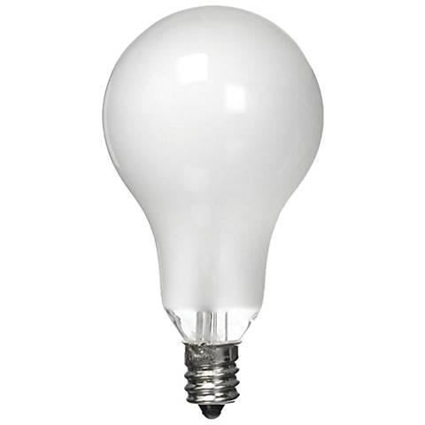 Satco 60 Watt Candelabra Ceiling Fan Light Bulb