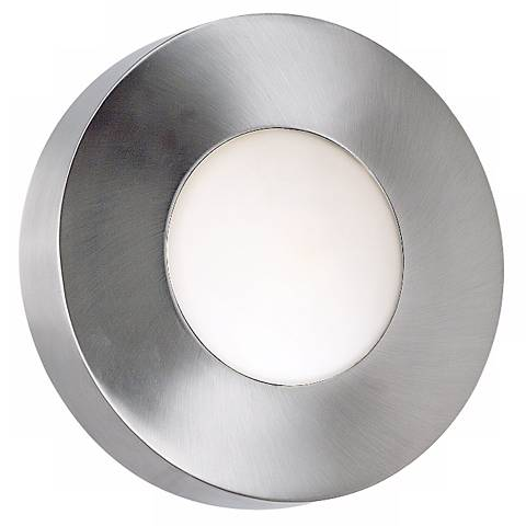 "Burst Aluminum 12"" High Round Outdoor Ceiling or Wall Light"