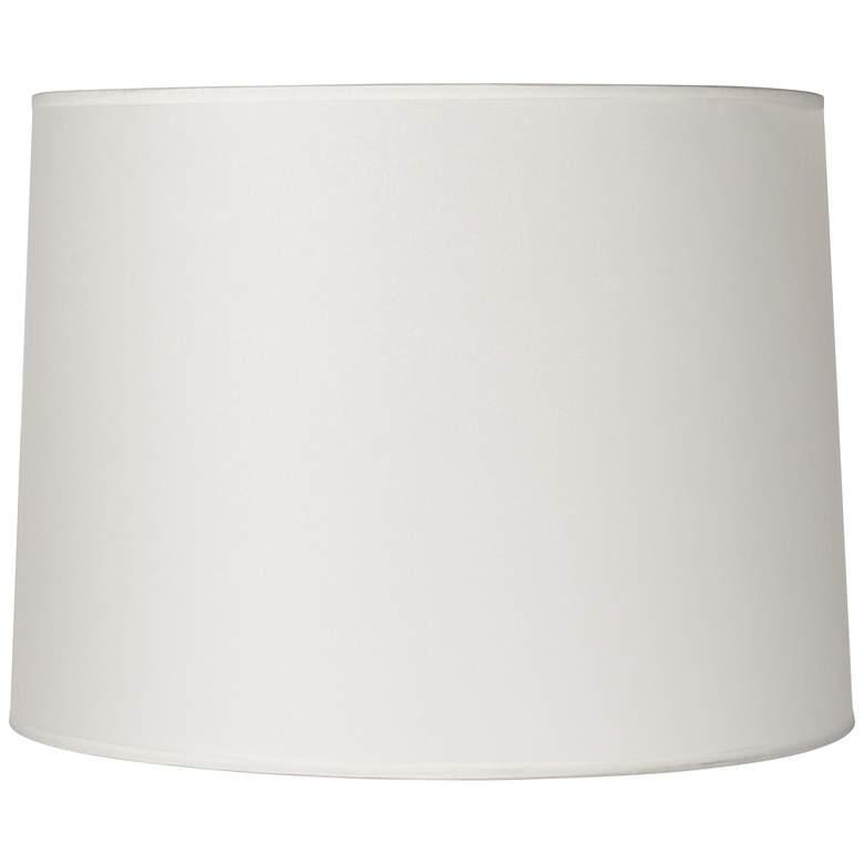 Hardback White Drum Lamp Shade 13x14x10 (Spider)