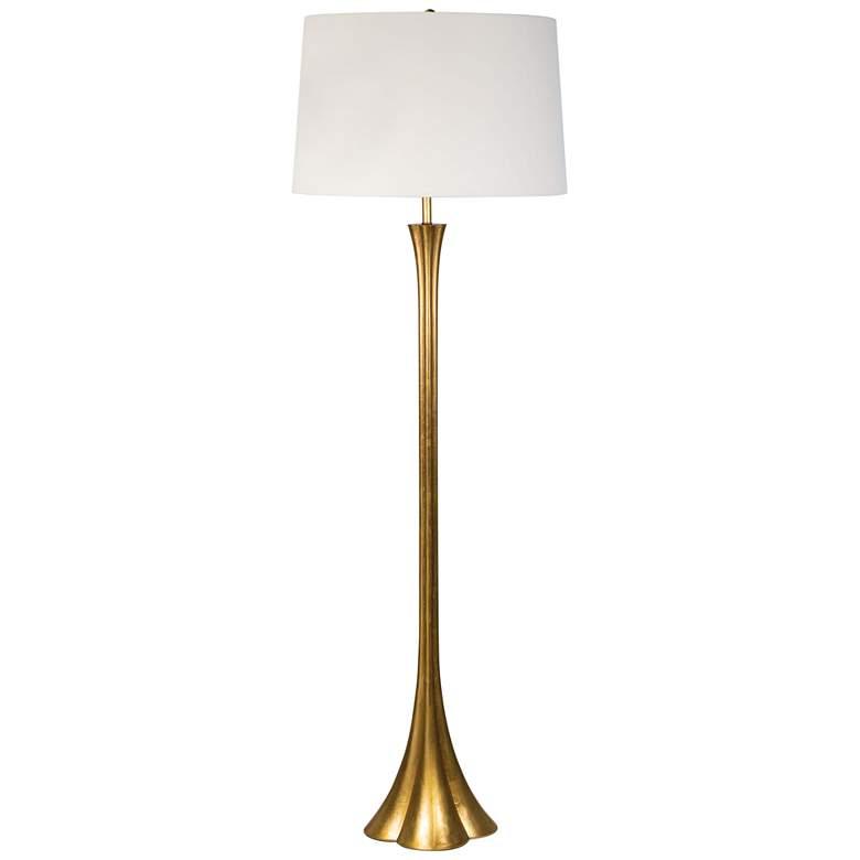 Regina Andrew Design Lillian Gold Leaf Floor Lamp