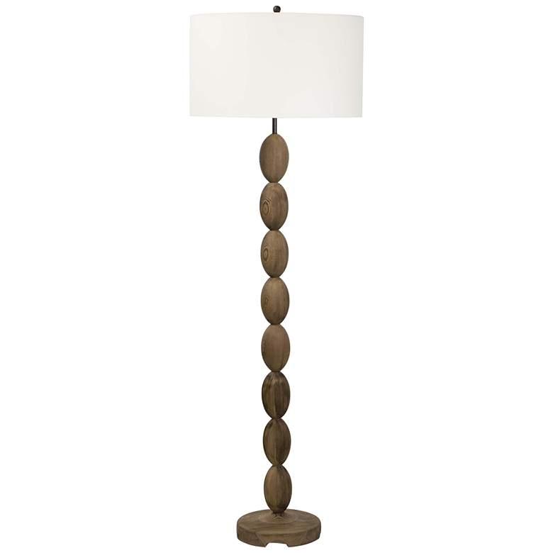 Regina Andrew Design Buoy Birch Wood Floor Lamp