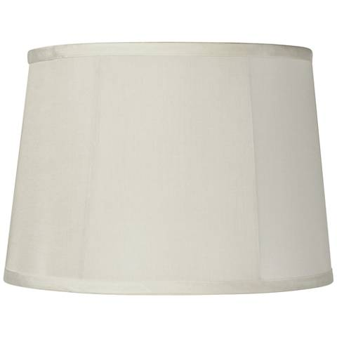 Round Softback Beige Drum Shade 12x14x10 (Spider)