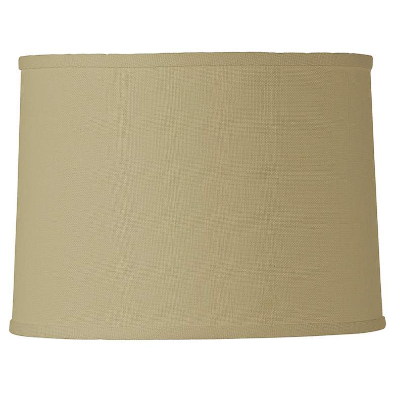 Hardback Drum Cream Linen Lamp Shade 15x16x11 (Spider)